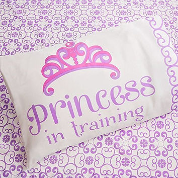 Disney Sofia the 1st Twin Sheet Set - Princess in Training
