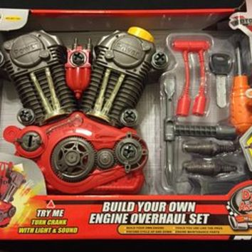 Build Your Own Engine Overhaul Toy Set from Amazon