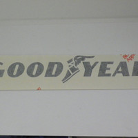 Factory Made Die cut GoodYear Decals 15 inches Black or White