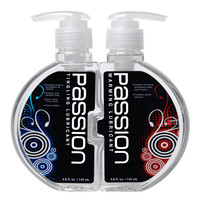 Passion Warming and Tingling Lube Combo - 9.6 oz