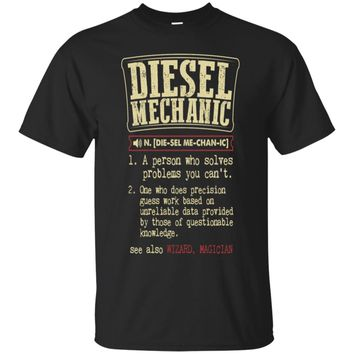 Diesel Mechanic Badass Dictionary Term  T-Shirt