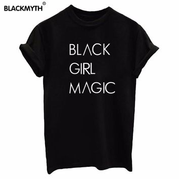 """BLACK GIRL MAGIC"" Short sleeve  T-Shirt"