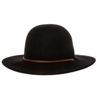 The Tiller Hat in Black