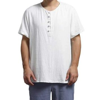 100%Cotton Chinese Style T Shirt