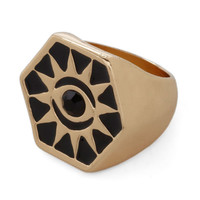Sunburst onto the Scene Ring | Mod Retro Vintage Rings | ModCloth.com