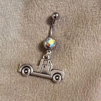 Redneck Pick-up Truck Belly Ring