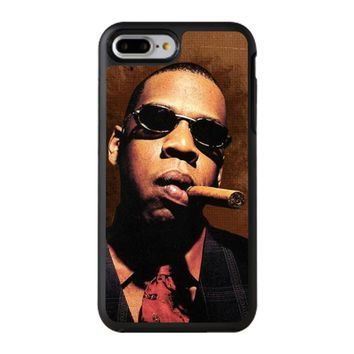 Jay-Z Cigar Glasses Tie Vest 01  iPhone 8 Plus Case