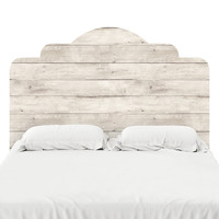 Wood II Headboard Decal