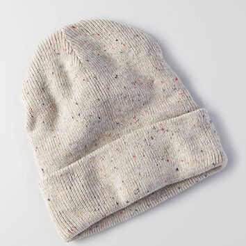 AEO Cuffed Beanie , Light Heather