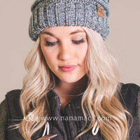 C.C. Mixed Color Slouch Beanie (Mint)