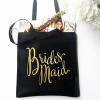 Tote Bag - Bridesmaid Bridal Party
