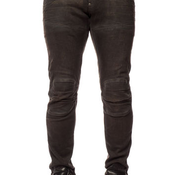 G-Star 5620 3D Low Tapered Klin Black Denim Cobler Smash
