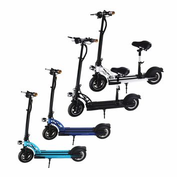 Trend Portable 36V 4400mAh Light Weight Bike 350W 10 inch Wheel Electric Scooter Adult Kids Traveling School Tool Best Gift