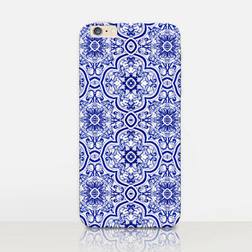 Vintage Tiles Phone Case  - iPhone 6 Case - iPhone 5 Case - iPhone 4 Case - Samsung S4 Case - iPhone 5C - Tough Case - Matte Case
