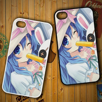 Date a Live Yoshino X1384 LG G2 G3, Nexus 4 5, Xperia Z2, iPhone 4S 5S 5C 6 6 Plus, iPod 4 5 Case