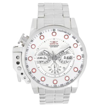 Invicta 18696 Men's I-Force Silver Dial Stainless Steel Bracelet Chronograph Lefty Watch