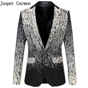 PEAP78W Free Shipping Plus Size M-6XL male master Sequins Prom Dresses Stage Costumes Men Suits top Host Clothing Singer Blazer coat