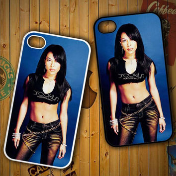 aaliyah Y0238 LG G2 G3, Nexus 4 5, Xperia Z2, iPhone 4S 5S 5C 6 6 Plus, iPod 4 5 Case