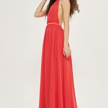 **Halter Maxi Dress - Clothing