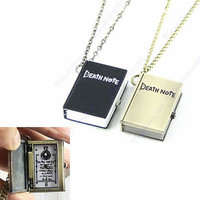 Anime Death Note DeathNote Necklace Charm Pendant pocket watch