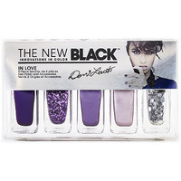 The New Black Demi Lovato In Love 5pc Nail Set In Love Ulta.com - Cosmetics, Fragrance, Salon and Beauty Gifts