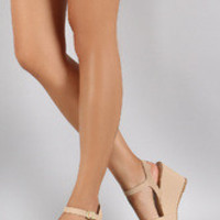 Women's Bamboo Sweet Strappy Wedge