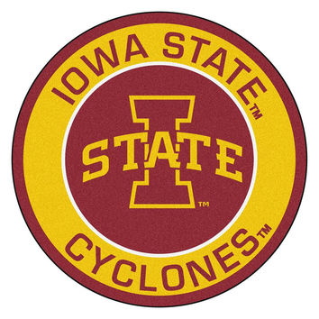 Iowa State Cyclones NCAA Rounded Floor Mat (29in)