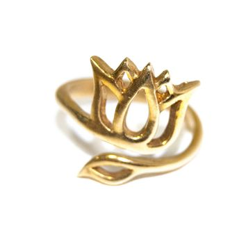 NEW! Crown Lotus Ring
