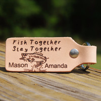 Fish Together, Stay Together Keychain