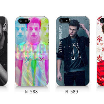 N-587-N590 Cameron Dallas design for iPhone 4/5/5C/6 case, Samsung galaxy S4/S5/Note3 case