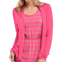 Icebreaker Villa Wrap Sweater - Women's Shocking,
