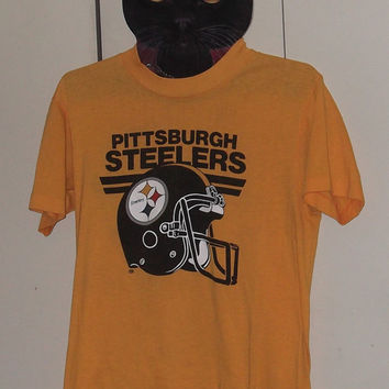 Vintage Pittsburgh Steelers t-shirt NFL 50/50