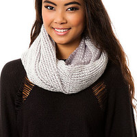 The Grey and White Two Tone Scarf