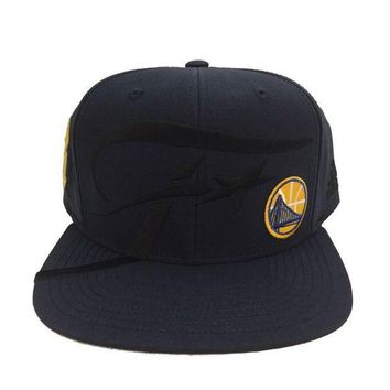 ESBONG6 GOLDEN STATE WARRIORS NAVY 2016 FINALS ADIDAS SNAPBACK HAT LIMITED EDITION CAP