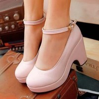 YESSTYLE Australia: Smoothie- Platform Wedge Pumps - Free Express Shipping on orders over AU$150