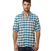 Buffalo David Bitton 3/4-Length Button-Up Shirt - Baja