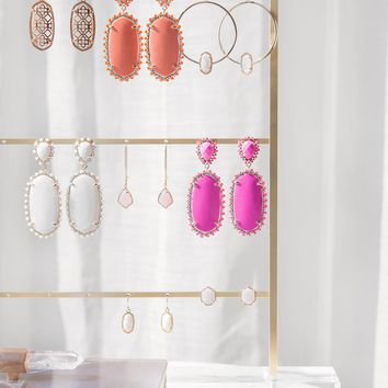 Post Earring Ladder in Antique Brass | Kendra Scott