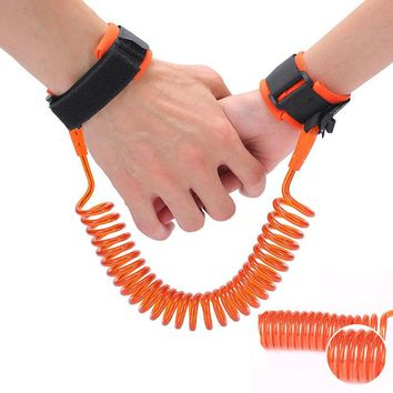 Anti Lost Wrist Link Toddler Leash Safety Harness for Baby Strap Rope Outdoor Walking Hand Belt Band Wristband Kids Drop