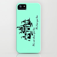 It's Not Where You Live... iPhone & iPod Case by Jaclyn Celeste