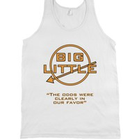 Hunger Games - Big Little-Unisex White Tank