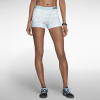"Nike 3"" Pro Core Compression Printed Women's Shorts - Glacier Ice"
