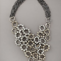 Vera Wang - Crystal Bib Necklace - Bergdorf Goodman