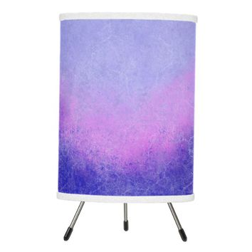 Lavender Purple Ombre Desk Lamp