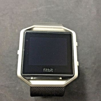 ONETOW Fitbit Blaze Smart Fitness Watch Small Black A5057