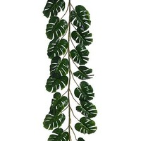 Artificial Philodendron Palm Leaf Garland - 6' Long
