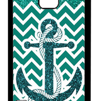 Anchor GREEN GLITTER Samsung Galaxy S5 Cases - Hard Plastic, Rubber Case