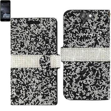Reiko BLING Diamond Flip Case HTC One A9