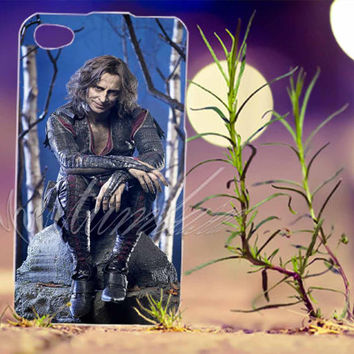 Once Upon A Time Mr Gold Rumpelstiltskin - Photo Print for iPhone 4/4s, iPhone 5/5s/5C, Samsung S3 i9300, Samsung S4 i9500 Hard Case