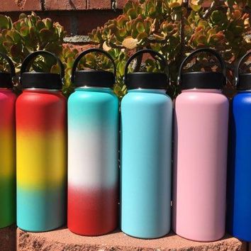 Engrave My Flask Hydro Flask, Handle Lid, 40oz, Blank
