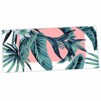 "Kess Original ""Monstera"" Nature Pop Art Desk Mat"